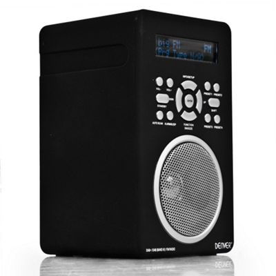 buy denver dab 43plus portable dab digital radio from our. Black Bedroom Furniture Sets. Home Design Ideas