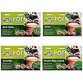 Mr Fothergill's Herb Garden Plant Pot Toppers - Set of 4