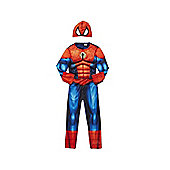 Marvel Spider-Man Padded Dress-Up Costume - Red & Blue