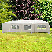 Outsunny outdoor Garden Gazebo (White, 9m x 3m)