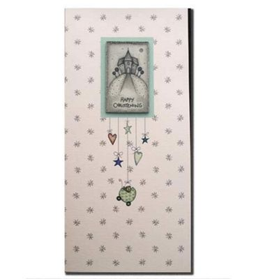 East of India Church Plaque Happy Christening Card