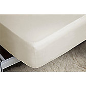 "Belledorm 450 Thread Count Pima Cotton 15"" Deep Fitted Sheet - Ivory"