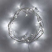 40 White LED Indoor Fairy Lights