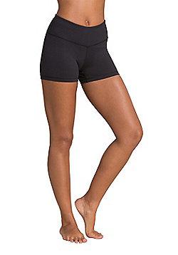 Zakti Shimmy Short Shorts - Black