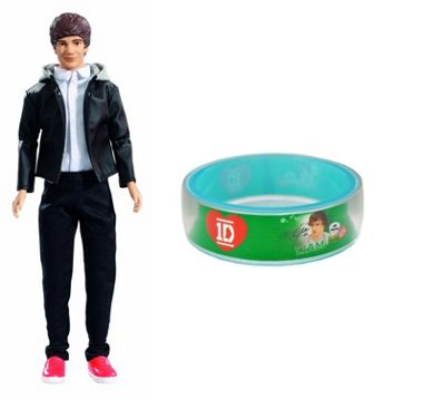 One Direction Wave 3 Collector Doll Liam Big Box And One Direction Bangle Liam