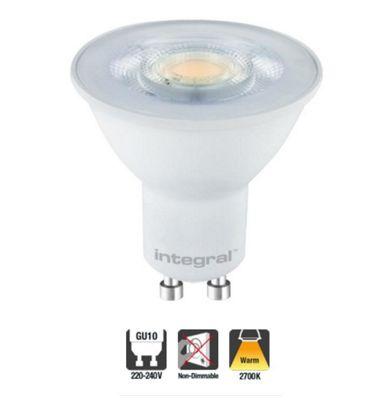 Integral LED GU10 Classic PAR16 3W (35W) 2700K 250lm Non-Dimmable Lamp