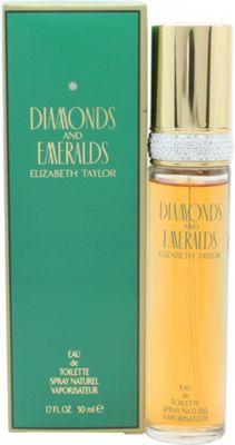 Elizabeth Taylor Diamonds & Emeralds Eau de Toilette (EDT) 50ml Spray For Women