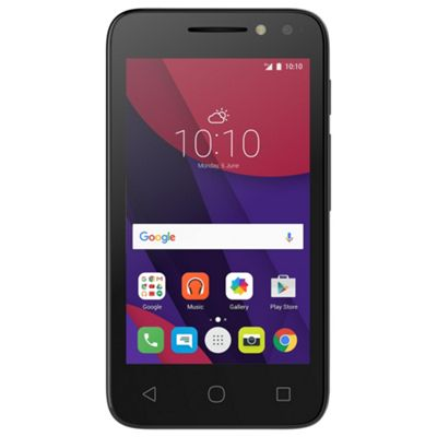 Tesco Mobile Alcatel Pixi 4 4inch Black