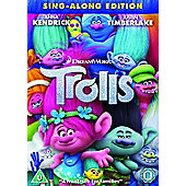 Trolls DVD (Sing-along edition)