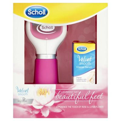 Scholl Velvet Smooth Pedicure File Tool and Serum Gift Set
