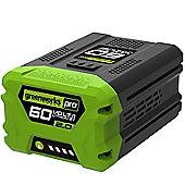 Greenworks 60v 108Wh (2.0Ah) battery