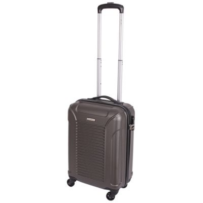 Pierre Cardin Luna ABS Small Trolley Case - Dark Grey