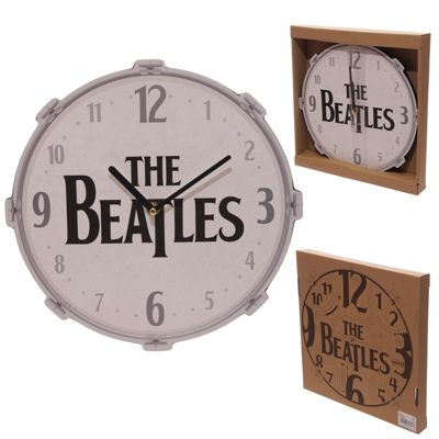 Puckator Beatles Drum Clock, Licensed Design