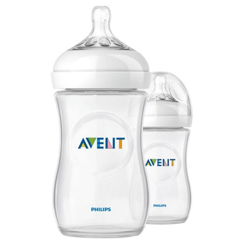 Philips AVENT SCF693/27 Natural 260 ml/9 oz Slow Flow Teat Twin pack