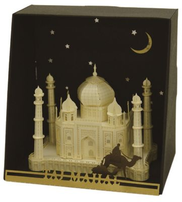 Taj Mahal Paper Building Sets - Construction