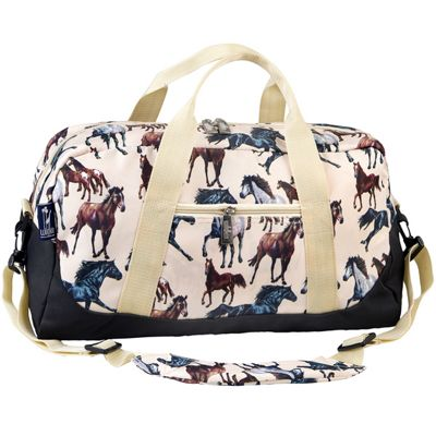 Children's Beige Horse Dream Duffel Bag