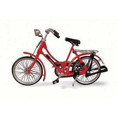 Red Woman Bicycle