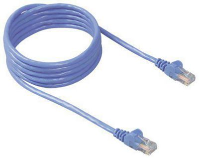 Belkin 10m Cat5e Assembled UTP Patch Cable Blue