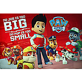 Paw Patrol No Pup Is Too Small Poster 61x91.5cm