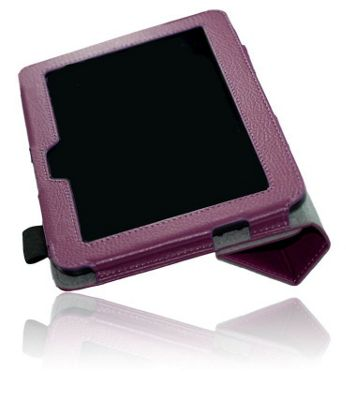 U-bop NeoORBIT Horizontal Kindle Flip Case Purple - For Amazon Kindle Fire HD 7