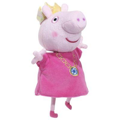 Peppa Pig 14 Inch Princess Peppa With Sound Soft Toy