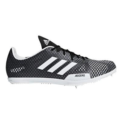 adidas adizero Ambition 4 Mens Running Spike Shoe Black/White - UK 6.5