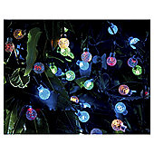 Tesco 100 Multi-Coloured Berry Solar String Lights