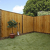 Mercia Feather Edge Fence Panel 6ft Dipped