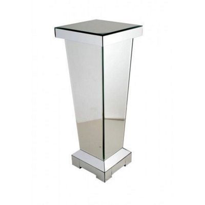 Classic Mirror Pedestal with Modern and Elegant Design - Home Decor