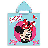Minnie Mouse Hooded Towel Poncho
