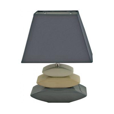 Ceramic 3 Stones Table Lamp