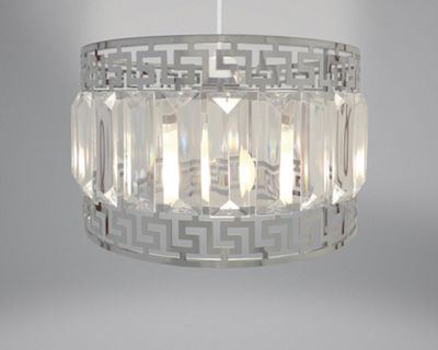 Country Club Metal Light Shade, Deco and Gems