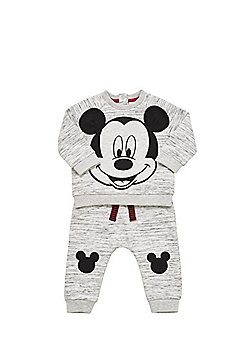 Disney Baby Mickey Mouse Sweatshirt and Joggers Set - Grey