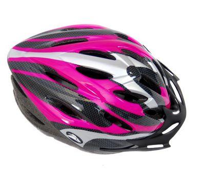 Coyote Sierra Dial Fit Adult Cycling Helmet Pink Medium