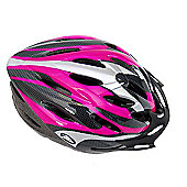Coyote Sierra Dial Fit Adult Cycling Helmet Pink Medium