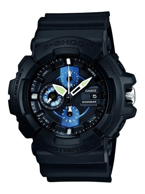 Casio G-Shock Mens Chronograph Luminous Hands Date Display Watch - GAC-100-1A2ER