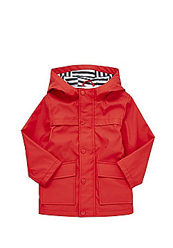 F&F Hooded Mac - Red