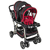 Graco R2Grow Stroller, Black & Red