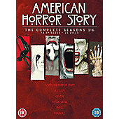 American Horror Story Season 1-6 Dvd Box Set