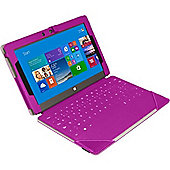 Urban Factory Elegant Keyboard/Cover Case (Folio) for Tablet - Pink