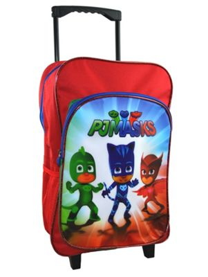 Disney Pj Masks 'Ready For Action' School Travel Trolley Roller Wheeled Bag