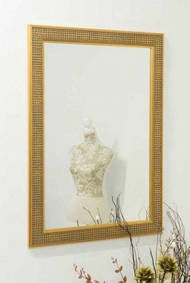 Large Gold Ornate Decorative Big Wall Mirror 3Ft6 X 2Ft6 107cm X 77cm