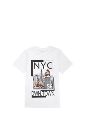 F&F NYC Graphic T-Shirt White 5-6 years