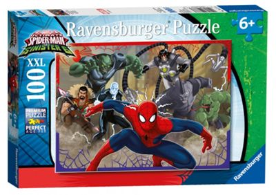 Ravensburger Marvel Ultimate Spider-Man Heroes Vs. Villains XXL Puzzle - 100 Pieces