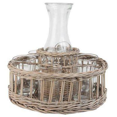 Glass Carafe Set