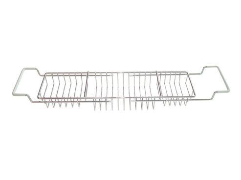 Aqualon 74923 Extendable Bath Rack Chrome