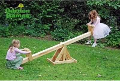 Garden Games Wooden See-Saw