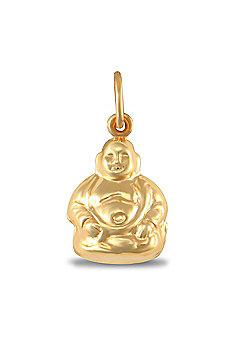 Ladies 9ct Gold Buddha Charm Pendant