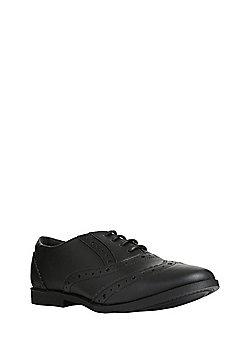 F&F School Brogues - Black