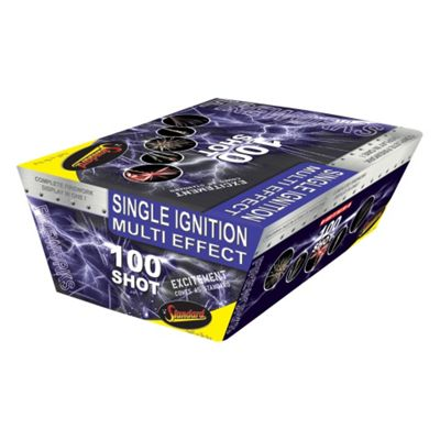 100 Shot Single Ignition Fireworks
